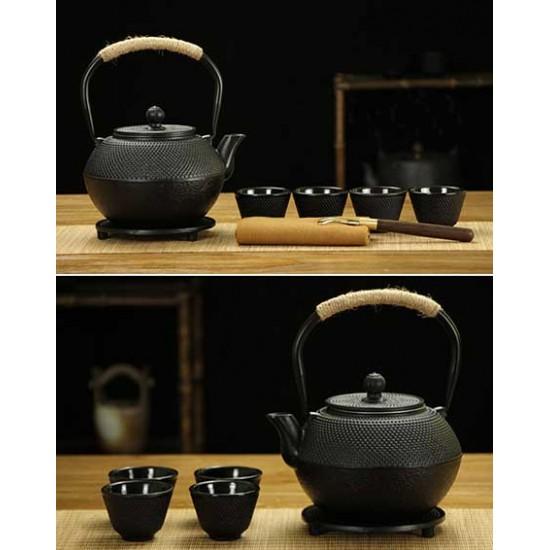 High Grade Japanese Cast Iron Tea Set Gift